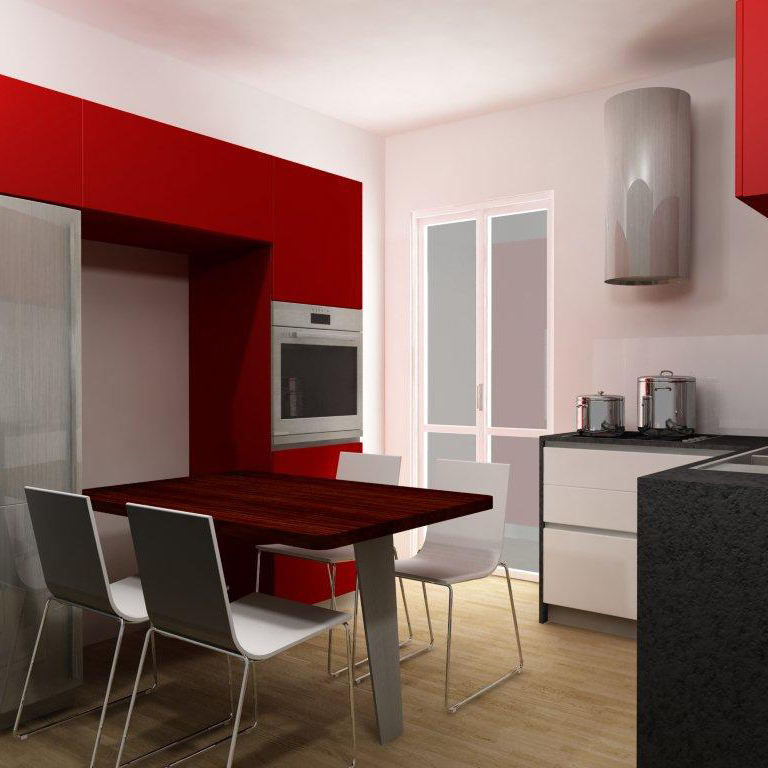 """Interior Design_""""My Kitchen"""". Design and construction of a Kitchen in a residential flat."""