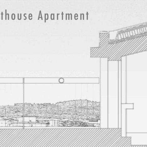 Small-Penthouse-Apartment ©shapetheline